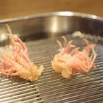 てんぷら 深町 - 料理写真:車海老の頭(2)