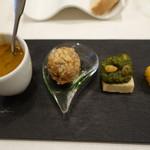 リゴレッティーノ - 前菜4種