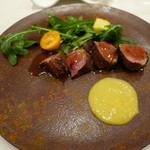 リゴレッティーノ - 仏産鴨の炭火焼き