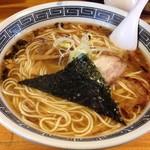 78697444 - 中華そば(動物系スープ)650円大盛100円