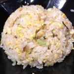 麺匠 はなみち - 半焼きめし(ラーメン代+300yen)