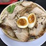 みずさわ屋 - 【2017.12.17】柔らかバラ肉そば(煮卵入り)¥1020