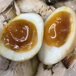 みずさわ屋 - 【2017.12.17】味染みよい煮卵❤️