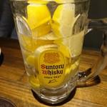 夜景のみえる 北海道原始焼き酒場ルンゴカーニバル - 最強レモンサワー