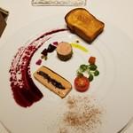 メゾン タテル ヨシノ - フォアグラ二種  めちゃくちゃ美味しいです!