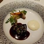 メゾン タテル ヨシノ - メインは、牛頬肉です!