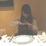 メゾン タテル ヨシノ - 大したもんではありませんが、プレゼントです!