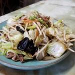 玉蘭 - 野菜炒め(単品) 野菜がしゃきしゃきで、控えめの塩味。