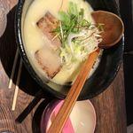 麺処 とこしえ - 鶏白湯ラーメン