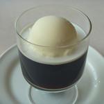 木かげ - コーヒーゼリー (バニラアイス)