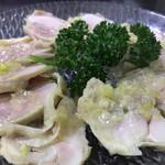 中華大千居 - 蒸し鶏(小)