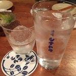 酒場シナトラ - 焼酎ロック