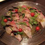ふれんち食堂 ぴん - 本日の鮮魚のカルパッチョ