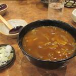 甚五郎 - 料理写真:カレー南蛮うどん