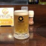 とんがり亭 - 生ビール