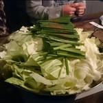 京亀 - 料理写真:モツ鍋