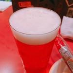 78705503 - 生ビール  1杯600円  おつまみ付