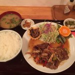 洋食房 茶居家 - 料理写真:ポークジンジャー