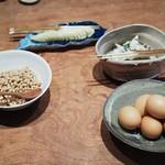 丹 - 卵や納豆