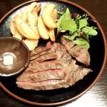 ちょうちん - 牛ステーキ