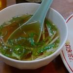 第一亭 - パタンのスープ