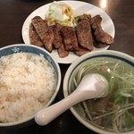 78708295 - 【2017.12.17】真とろたん焼き定食¥2850