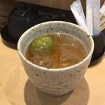 三代目 まる天 - 梅酒(ロック)