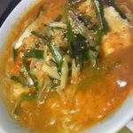 アジアン料理 友 - 純豆腐ラーメン定食