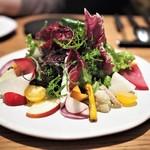 ラ・ボンヌターブル - 畑のサラダ