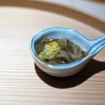 お料理 志ぶう - 自家製イカの塩辛