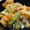 茂竹 - 料理写真:盛り合わせ天丼
