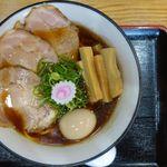 らーめん専門店あぶり - 料理写真:特製醤油ラーメン