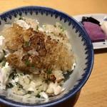 Shin-yuki - 鯛釜飯(コースと別)