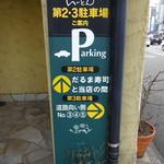 いーとん - 駐車場は12台分