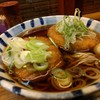 そば新 - 料理写真:男爵コロッケ蕎麦(2つ頼んで、コロッケだけ移植しましたw)