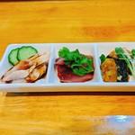zuien - 前菜三種