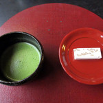 吉祥庵 - お抹茶とお茶菓子 800円