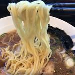 山神山人 - 麺は、細ストレート(2017.12.30)