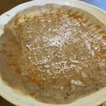garettokafemoga - キャラメルソースに粉糖をかけたガレット2