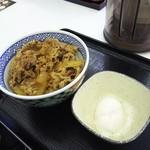 吉野家 - 牛丼に温玉