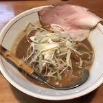 麺と人 - 味噌麺730円(税込)