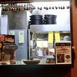 ばぐばぐ - 厨房の窓口