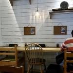 スープカレー スアゲ2 - カウンター席