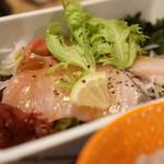長濱 - 選べるメイン ブリのカルパッチョ
