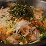長濱 - 海鮮丼1050円