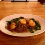 横浜五番街 いち五郎 - 海老と春雨の塩炒め