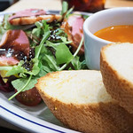 エクセルシオール カフェ バリスタ - 季節のサラダスーププレート