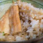 鴨鶴 - 穴子釜飯