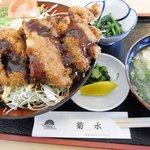 レストラン菊水 - チキンカツ丼