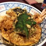 78730552 - 海老野菜天丼